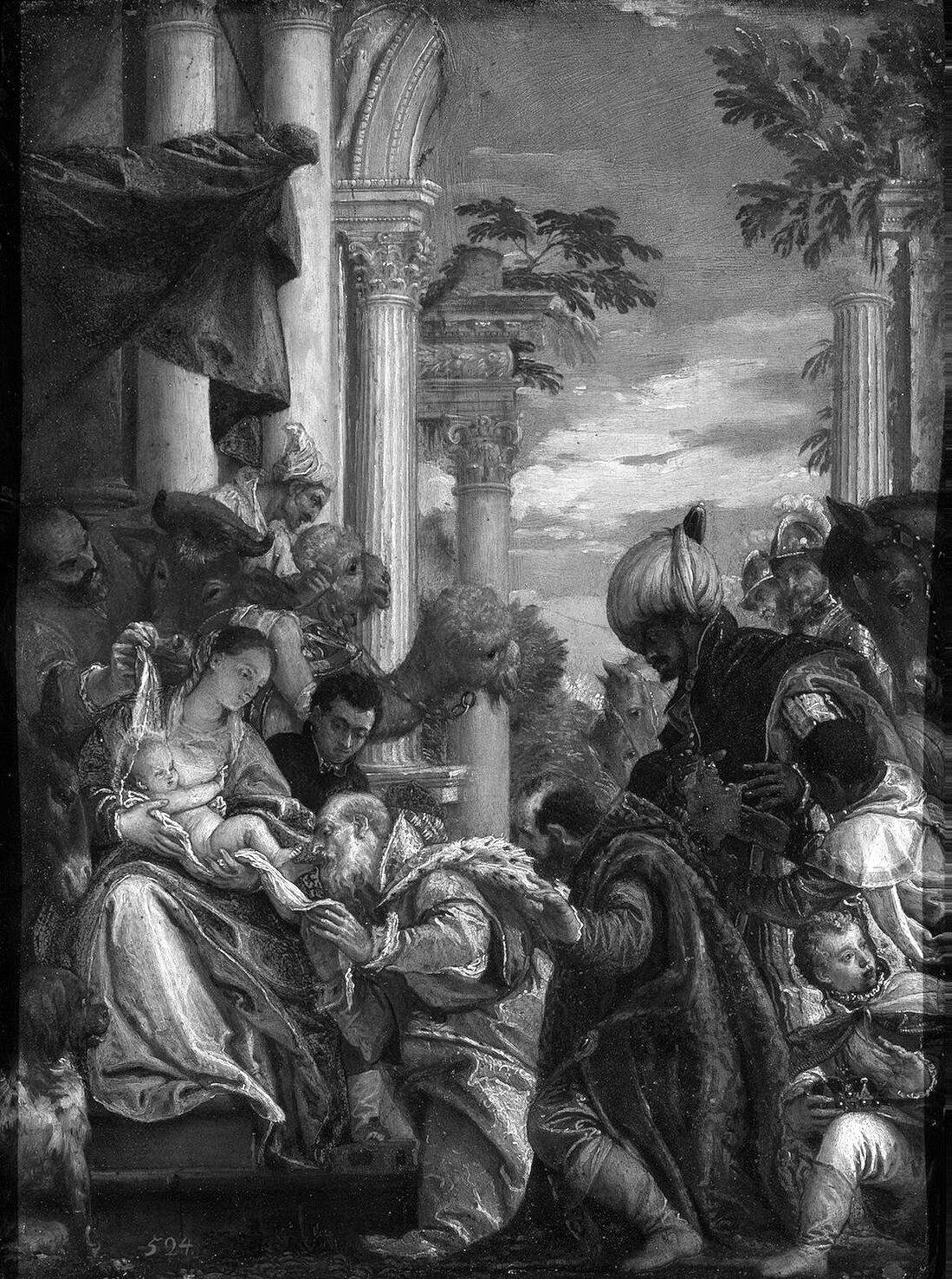 Паоло Веронезе. Поклонение волхвов